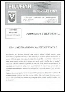 Biuletyn Informacyjny Urzędu Gminy w Terespolu R. 9 (2000) nr 5