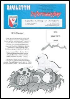 Biuletyn Informacyjny Urzędu Gminy w Terespolu R. 9 (2000) nr 6