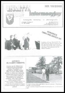Biuletyn Informacyjny Urzędu Gminy w Terespolu R. 9 (2000) nr 10