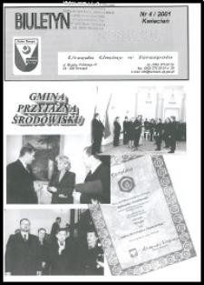 Biuletyn Informacyjny Urzędu Gminy w Terespolu R. 10 (2001) nr 4