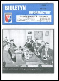 Biuletyn Informacyjny Urzędu Gminy w Terespolu R. 17 (2008) nr 1