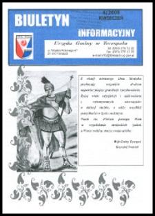 Biuletyn Informacyjny Urzędu Gminy w Terespolu R. 17 (2008) nr 4