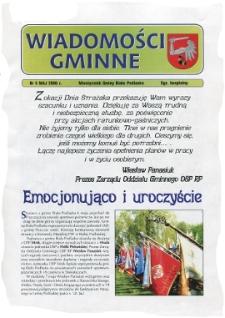 Wiadomości Gminne : miesięcznik gminy Biała Podlaska R. 8 (2006) nr 5