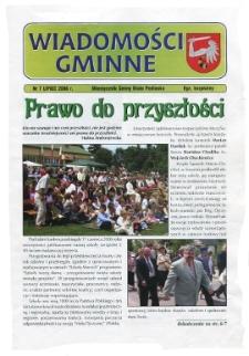 Wiadomości Gminne : miesięcznik gminy Biała Podlaska R. 8 (2006) nr 7