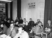 Sejmik Miłośników Regionu 10.11.1984 r. - uczestnicy obrad