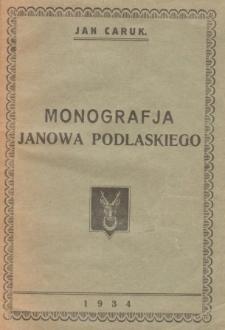 Monografia Janowa Podlaskiego