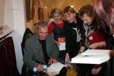 """II Bialski Festiwal """"Drążyć to, co dookoła """" z Andrzejem Stasiukiem, 16-18 października 2010 r. [dokument ikonograficzny]"""
