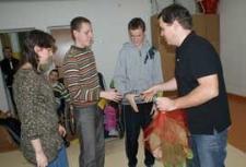 Przystanek odkrywanek : spotkania autorskie z Grzegorzem Kasdepke - ZSZ w Białej Podlaskiej, 16.11.2009 r.