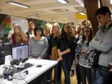 Wizyta grupy młodzieży z Bułgarii i Włoch uczestniczącej w programie Comenius, 2013.09.17