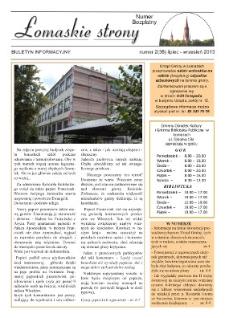 Łomaskie Strony : biuletyn mieszkańców Łomaz i okolic R. 5 (2013) nr 2 (38)