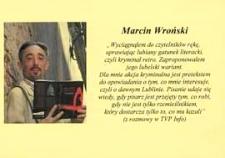 Druk ulotny : Spotkanie z autorem kryminałów Marcinem Wrońskim, 19.10.2011