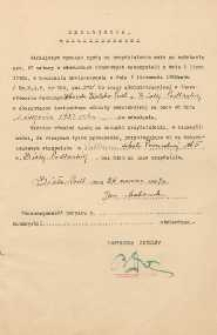 [Inc.:] Deklaracja : Niniejszym wyrażam zgodę na przydzielenie mnie [...] do pracy [...] w charakterze instruktora oświaty pozaszkolnej