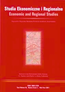 Studia Ekonomiczne i Regionalne = Economic and Regional Studies T. 4, nr 1 (2011)