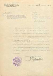 Powołanie Jana Makaruka na członka Komisji Dyscyplinarnej dla urzędników w oświacie w Okręgu Szkolnym Pomorskim