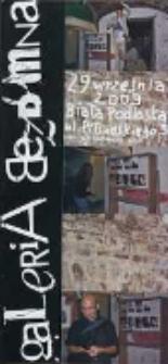 Galeria Bezdomna : [katalog 71 edycj]