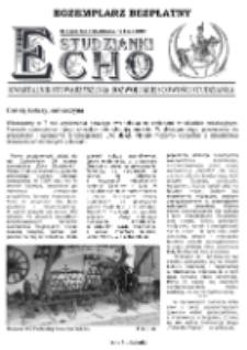 Echo Studzianki : kwartalnik Stowarzyszenia Rozwoju Miejscowości Studzianka R. 7 (2015) nr 2 (24)