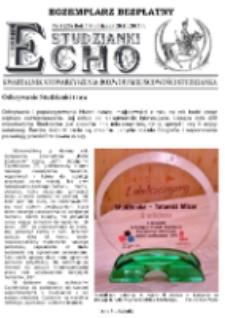 Echo Studzianki : kwartalnik Stowarzyszenia Rozwoju Miejscowości Studzianka R. 7 (2015) nr 3 (25)
