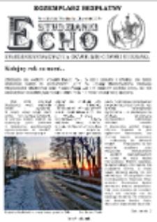 Echo Studzianki : kwartalnik Stowarzyszenia Rozwoju Miejscowości Studzianka R. 7 (2015) nr 4 (26)