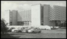 """Budynek Domu Socjalnego ZPW """"Biawena"""" w Białej Podlaskiej w trakcie prac wykończeniowych"""