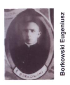 Ks. Eugeniusz Borkowski wikariusz parafii św. Elżbiety Węgierskiej w Konstantynowie w latach 1933-1934