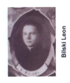 Ks. Leon Bilski wikariusz parafii św. Elżbiety Węgierskiej w Konstantynowie w latach 1934-1935