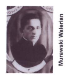 Ks. Leon Bilski wikariusz parafii św. Elżbiety Węgierskiej w Konstantynowie w latach 1937-1938
