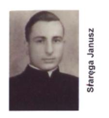 Ks.Janusz Staręga wikariusz parafii św. Elżbiety Węgierskiej w Konstantynowie w latach 1954-1956