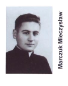 Ks. Mieczysław Marczuk wikariusz parafii św. Elżbiety Węgierskiej w Konstantynowie w latach 1956-1958